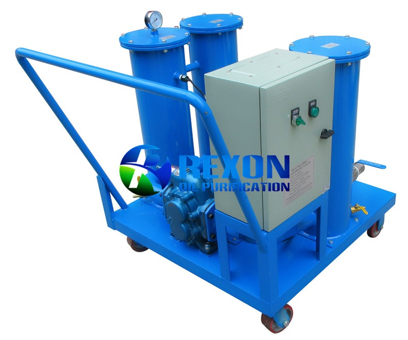 Four Stage Filtering Oil Purification Machine Series JL
