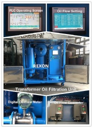 Oil Flow Variable from 0~9000Liters/Hour, High Vacuum Transformer Oil Filtration Machine ZYD-150