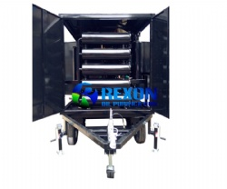 Enclosed and Mobile Type Transformer Oil Regeneration Plant with Fullers Earth Filter ZYD-II-100(6000LPH)