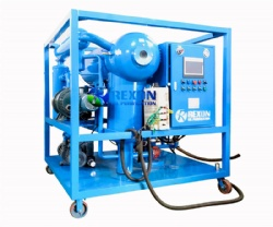 Double Stage High Vacuum Transformer Oil Purification Machine