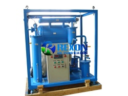 ZYB Single Stage Vacuum Transformer Oil Regeneration Purifier