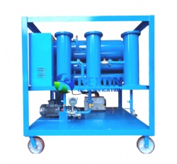Vacuum Type Used Lubricating Oil Purification Machine Series TYA