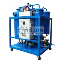 Vacuum Oil Water Separator and Oil Dehydrator TYA-D