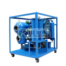 Explosion Proof Type Oil Purifier | Lube Hydraulic Oil Purification Machine