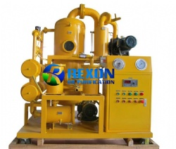 High Vacuum Transformer Oil Treatment Machine Series ZYD